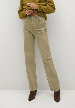 Mango - LOLA-I - Straight leg jeans - kaki