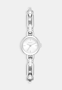 DKNY - ROUND UPTOWN - Montre - silver-coloured