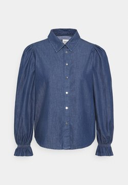 ONLY - ONLFIFI - Button-down blouse - dark blue denim