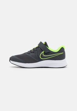 Nike Performance - STAR RUNNER 2 UNISEX - Chaussures de running neutres - anthracite/electric green/white