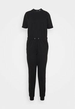 Missguided Tall - DRAWSTRING JOGGER CUFF - Combinaison - black