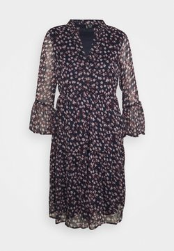 Vero Moda Tall - VMKAY SHORT DRESS - Freizeitkleid - navy blazer