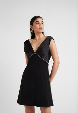 Three Floor - PERETTI DRESS - Sukienka koktajlowa - black