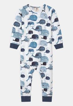 Walkiddy - BABY WHALES UNISEX - Pyjama - white