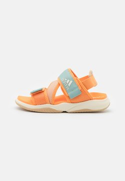 adidas Performance - TERREX SUMRA - Walking sandals - haze orange/core white/haze beige