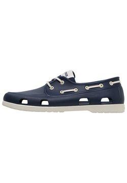 Crocs - Chaussures bateau - navy/stucco