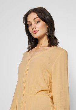 Monki - CARIE DRESS - Maxi-jurk - beige