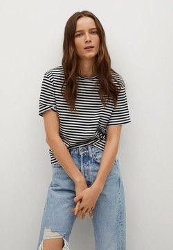 Mango - ANITA-I - T-shirt print - marineblauw