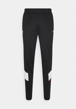 Puma - FERRARI RACE TRACK PANTS - Jogginghose - black