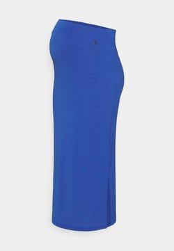 LOVE2WAIT - SKIRT CRINCLE - Falda de tubo - mazarine blue