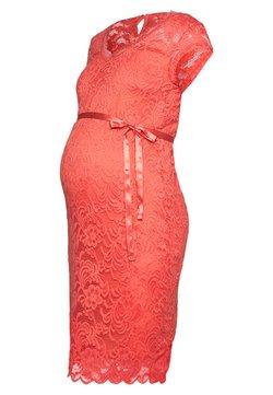 MAMALICIOUS - MLNEWMIVANA CAP DRESS - Vestido de cóctel - georgia peach