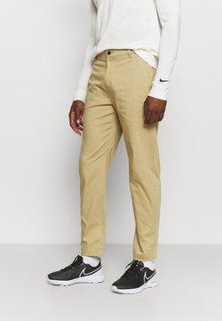 Nike Golf - DRY FIT PANT - Tygbyxor - parachute beige