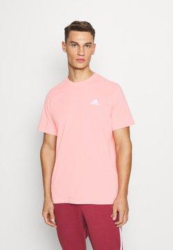 adidas Performance - SNACK TEE - Camiseta estampada - glory pink