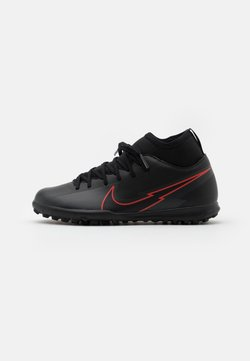Nike Performance - MERCURIAL JR 7 CLUB TF UNISEX - Fußballschuh Multinocken - black/dark smoke grey