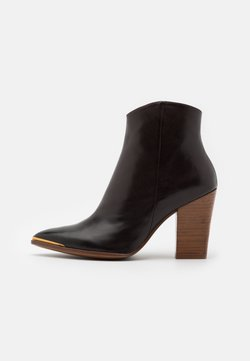 Bruno Premi - High heeled ankle boots - firenze testa di moro