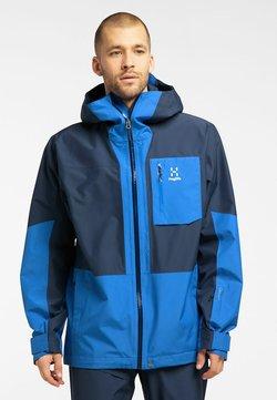 Haglöfs - LUMI JACKET - Laskettelutakki - tarn blue/storm blue