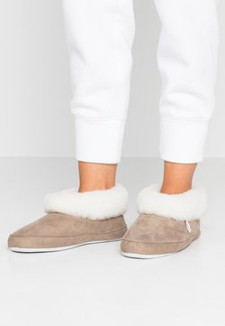 Shepherd - EMMY - Chaussons - stone/white