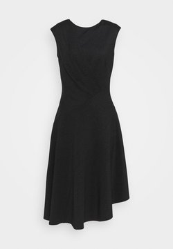 Closet - CLOSET HIGH NECK A LINE DRESS - Cocktailkleid/festliches Kleid - black