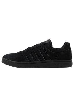K-SWISS - COURT CHESWICK - Sneaker low - black/charcoal