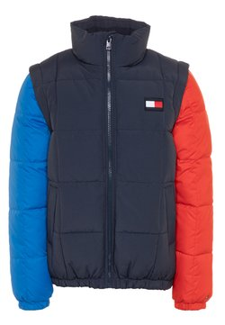 Tommy Hilfiger - ZIP OFF PADDED  - Giacca invernale - blue