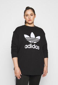 adidas Originals - CREW - Collegepaita - black/white