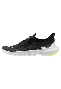 Nike Performance - FREE RN 5.0 - Laufschuh Natural running - black/white/anthracite/volt