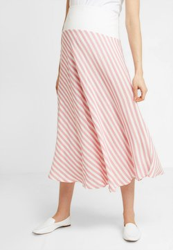 Gebe - SKIRT BREEZE - Maksihame - white/red