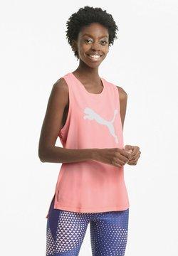 Puma - TRAIN FAVORITE CAT MUSCLE  - T-shirt sportiva - elektro peach