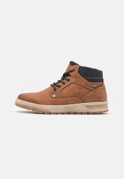 TOM TAILOR - Sneaker high - cognac