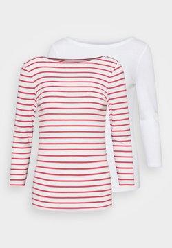 GAP - BALLET 2 PACK  - T-Shirt print - red white