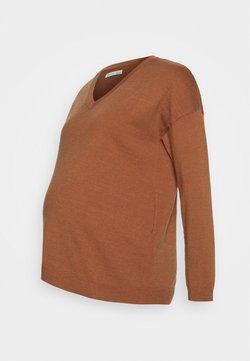 Anna Field MAMA - Jersey de punto - light brown