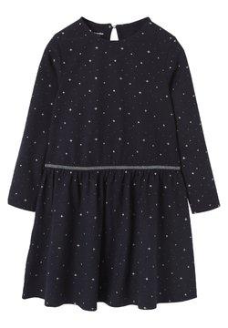Vertbaudet - Jerseykleid - nachtblau bedruckt