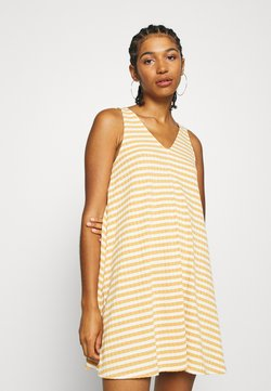 American Eagle - EASY SIWING DRESS - Jerseykleid - yellow