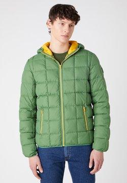 Wrangler - THE PUFFER - Winterjacke - artichoke green