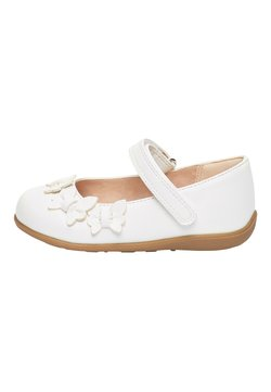 Next - WHITE BUTTERFLY MARY JANE SHOES (YOUNGER) - Babies - white