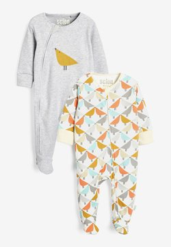 Next - SCION LIVING EXCLUSIVELY TO NEXT FOOTLESS SLEEPSUITS TWO PACK - Strampler - multi-coloured
