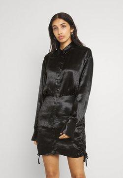 Gina Tricot - SIDNEY SHIRT DRESS - Cocktailkleid/festliches Kleid - black