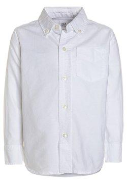 GAP - BAS OXFORD - Vapaa-ajan kauluspaita - white