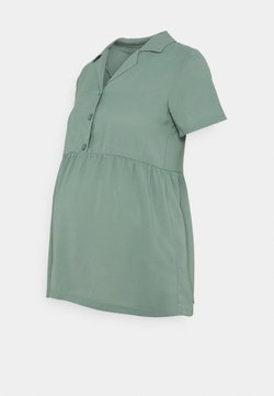MAMALICIOUS - MLCHILLY LIA - Blouse - chinois green