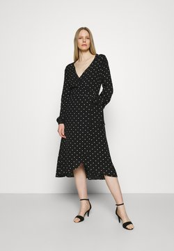 Guess - NEW BAJA DRESS - Maxiklänning - black/white