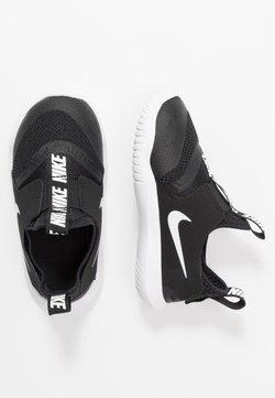 Nike Performance - FLEX RUNNER UNISEX - Neutral running shoes - black/white
