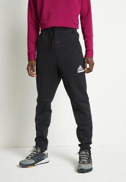 adidas Performance - SPORTSWEAR AEROREADY PANTS - Jogginghose - black