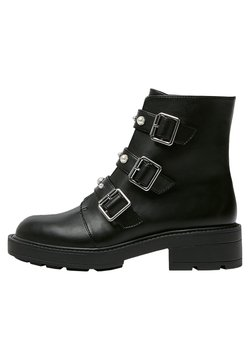 PULL&BEAR - Ankle Boot - black