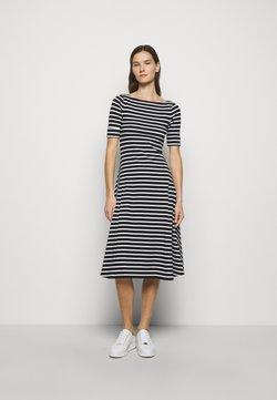 Lauren Ralph Lauren - Jerseykleid - black/white