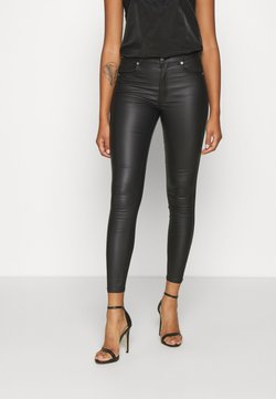 Dr.Denim - LEXY - Stoffhose - black metal
