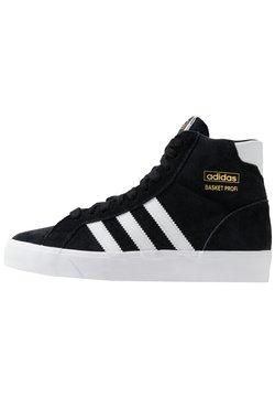 adidas Originals - BASKET PROFI - Korkeavartiset tennarit - core black/footwear white/gold metallic