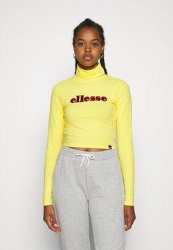 Ellesse - VORAN - T-shirt à manches longues - yellow