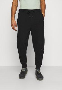 Calvin Klein Jeans - MICRO BRANDING PANT - Jogginghose - black