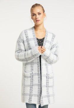 usha - Strickjacke - weiß schwarz