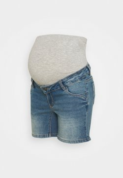 MAMALICIOUS - MLFONTANA - Short en jean - light blue denim